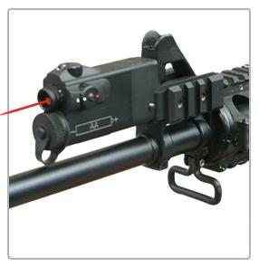 Ar 2a Laser Tactical Light Mount Aimer Pointer