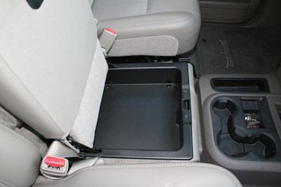 Auto Vault Gun Vehicle Console Truck Safe CONSOLE VAULT VEHICLE SAFE