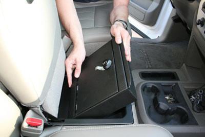 Auto Vault Gun Vehicle Console Truck Safe
