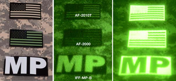 Military ir id patches